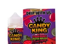 Strawberry Watermelon Bubblegum Ejuice by Candy King