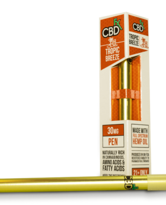 Tropic Breeze CBD Vape Pen by CBDfx Review