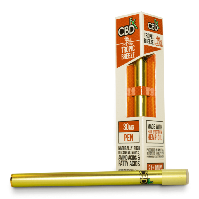 Tropic Breeze CBD Vape Pen by CBDfx Review